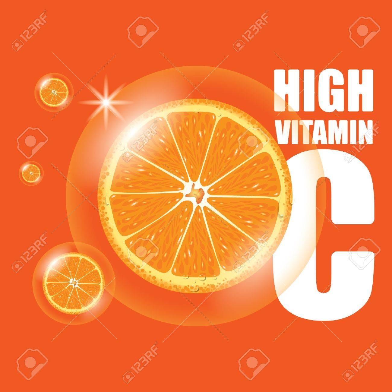 Orange Élevée En Vitamine C Clip Art Libres De Droits , Vecteurs Et ... 01e38c32d0d