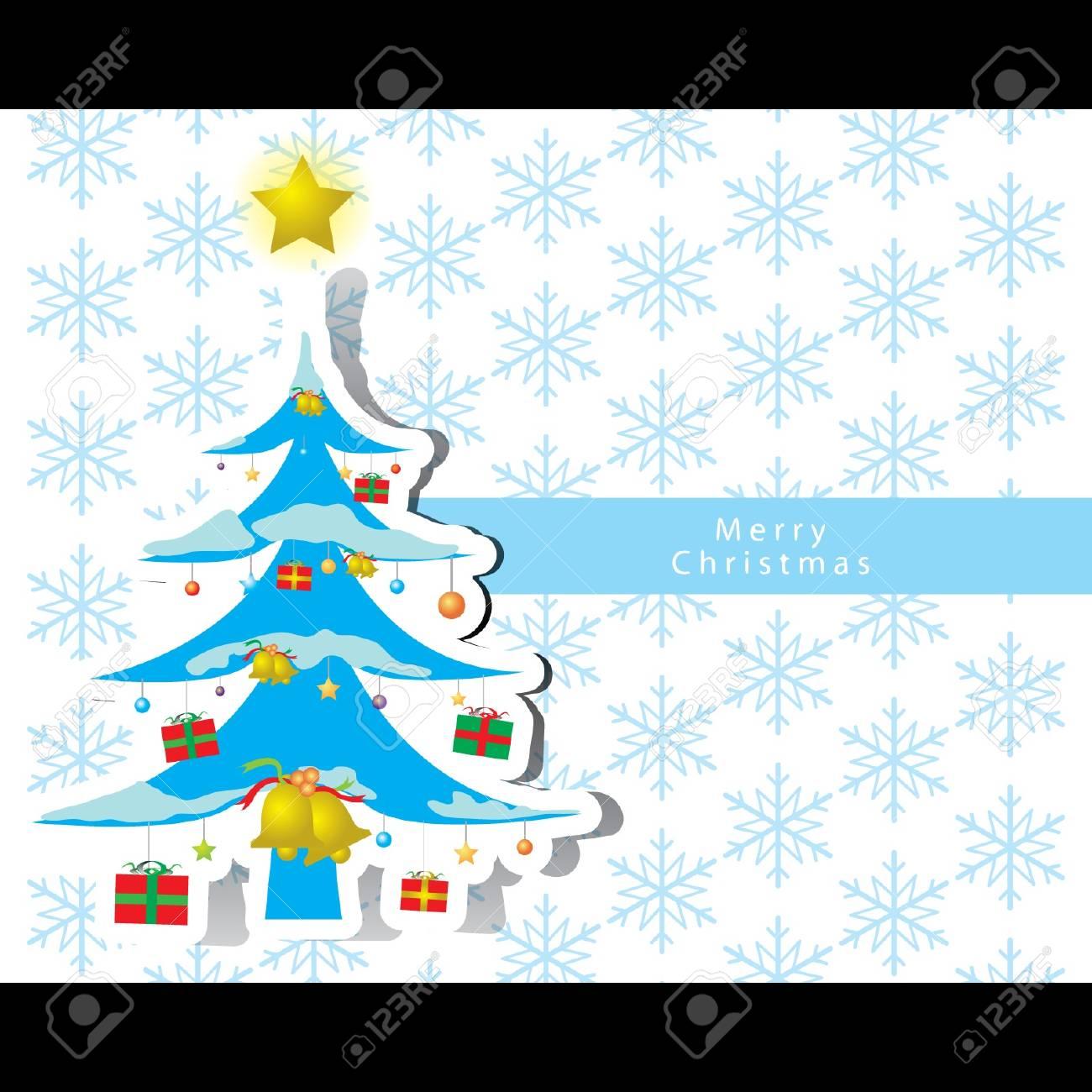 Christmas card vector Stock Vector - 16644286