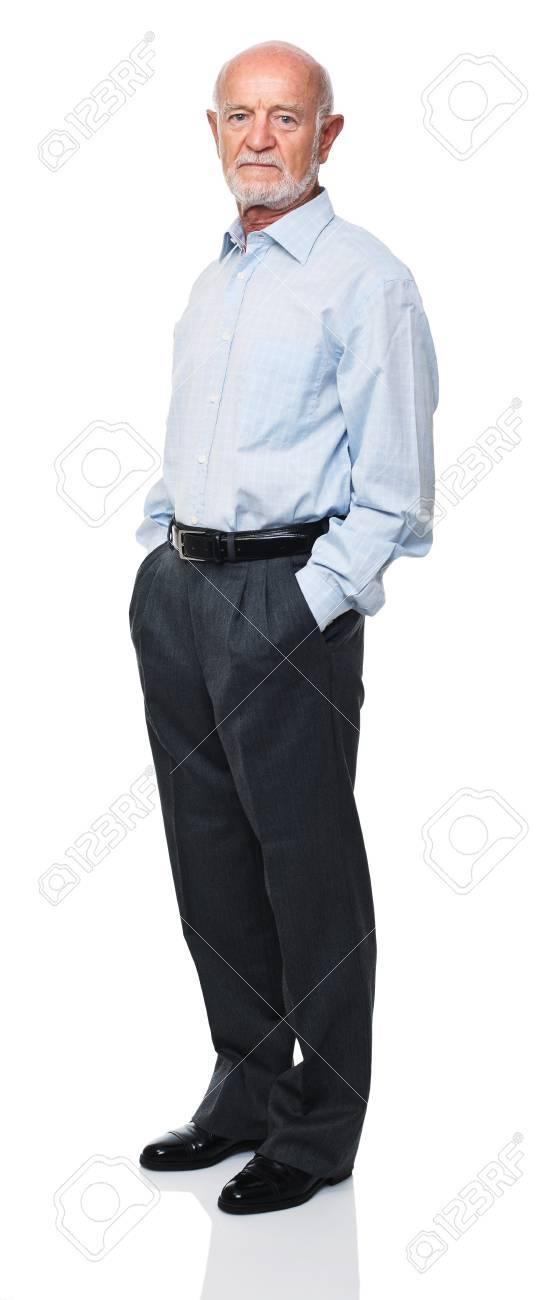 portrait of senior caucasian worker Stock Photo - 10213439