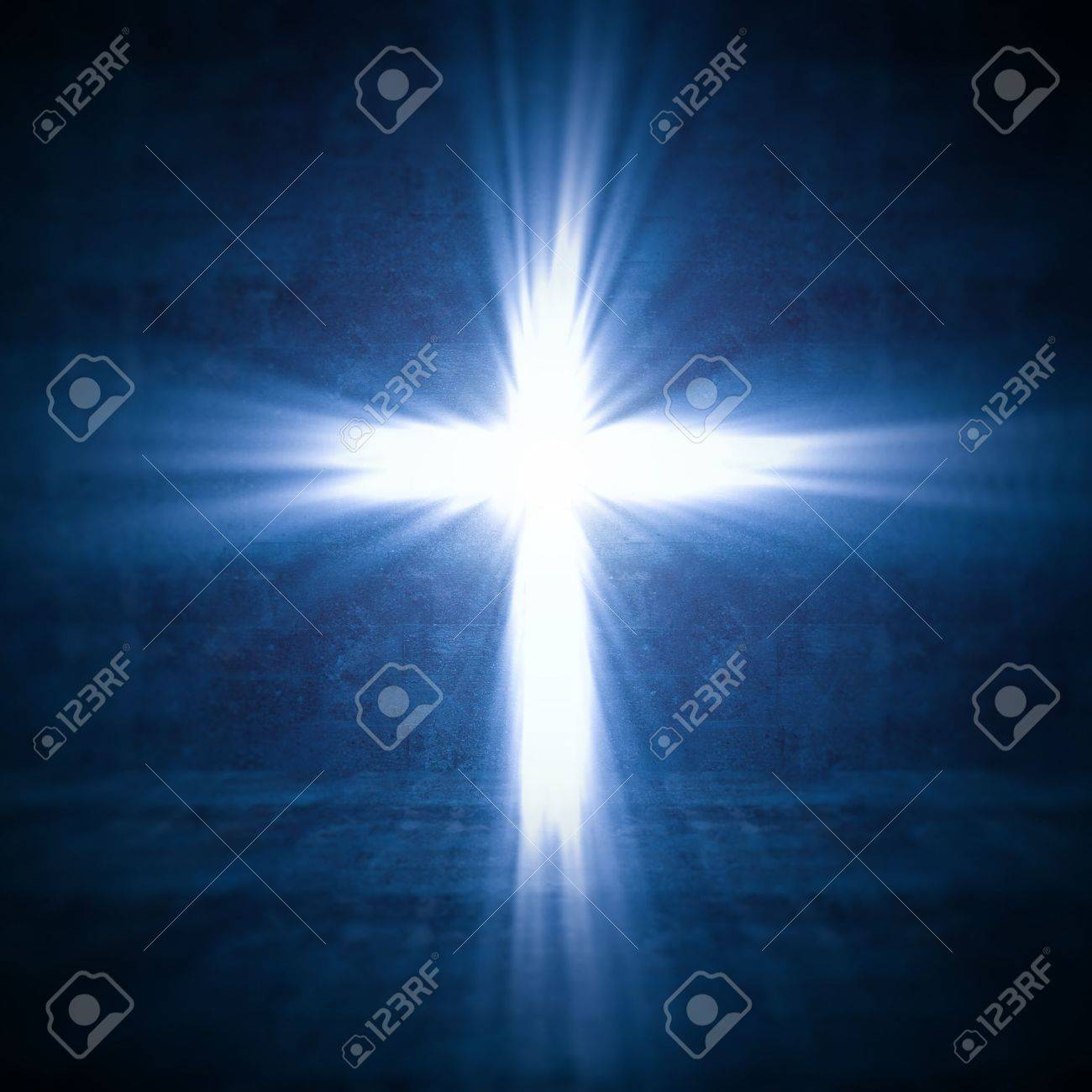 Silhouette of the holy cross on background of storm clouds stock - Christ On The Cross 3d Image Of Cross Of Light Stock Photo