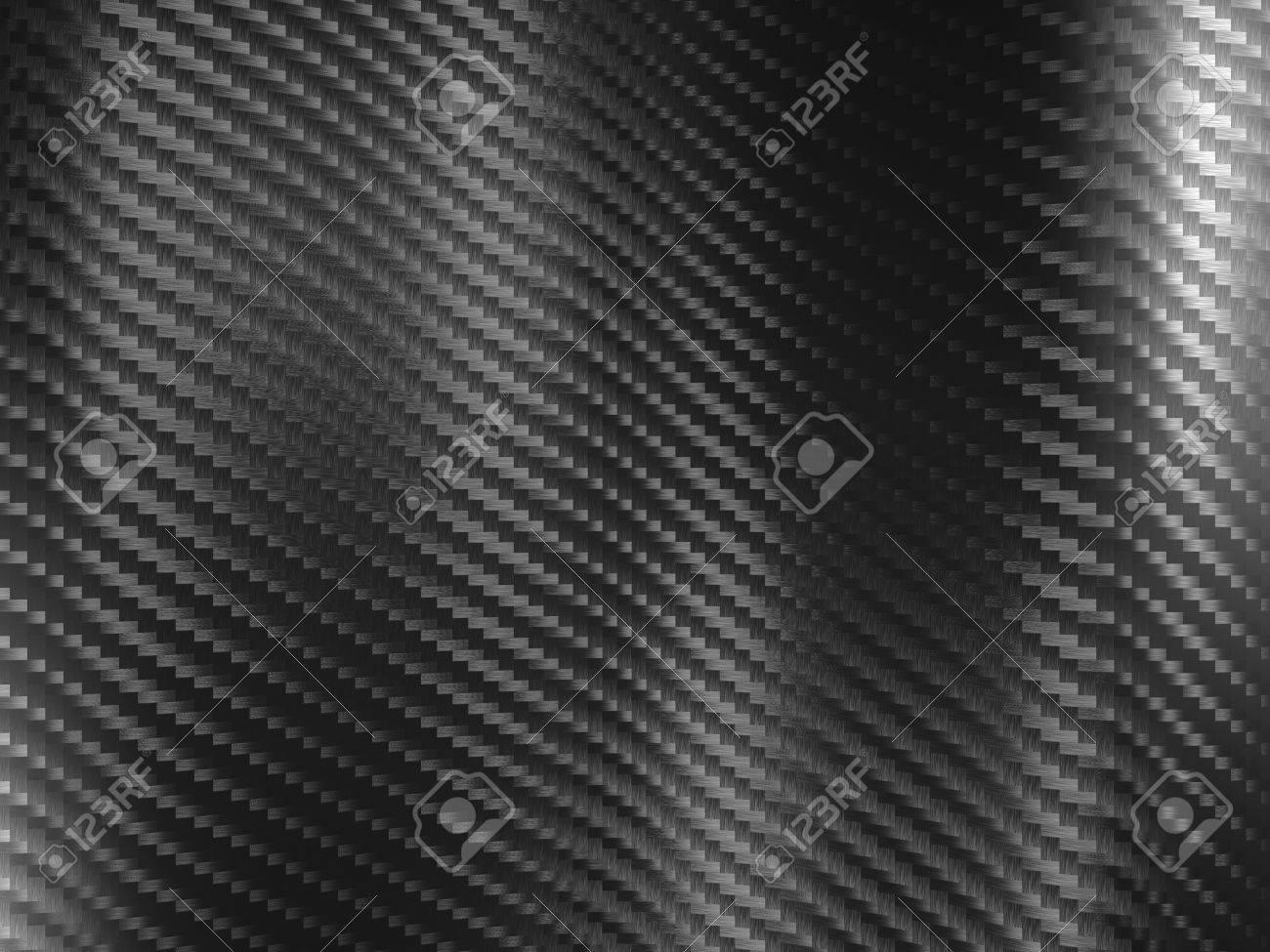 3d image of classic carbon fiber texture - 49099556