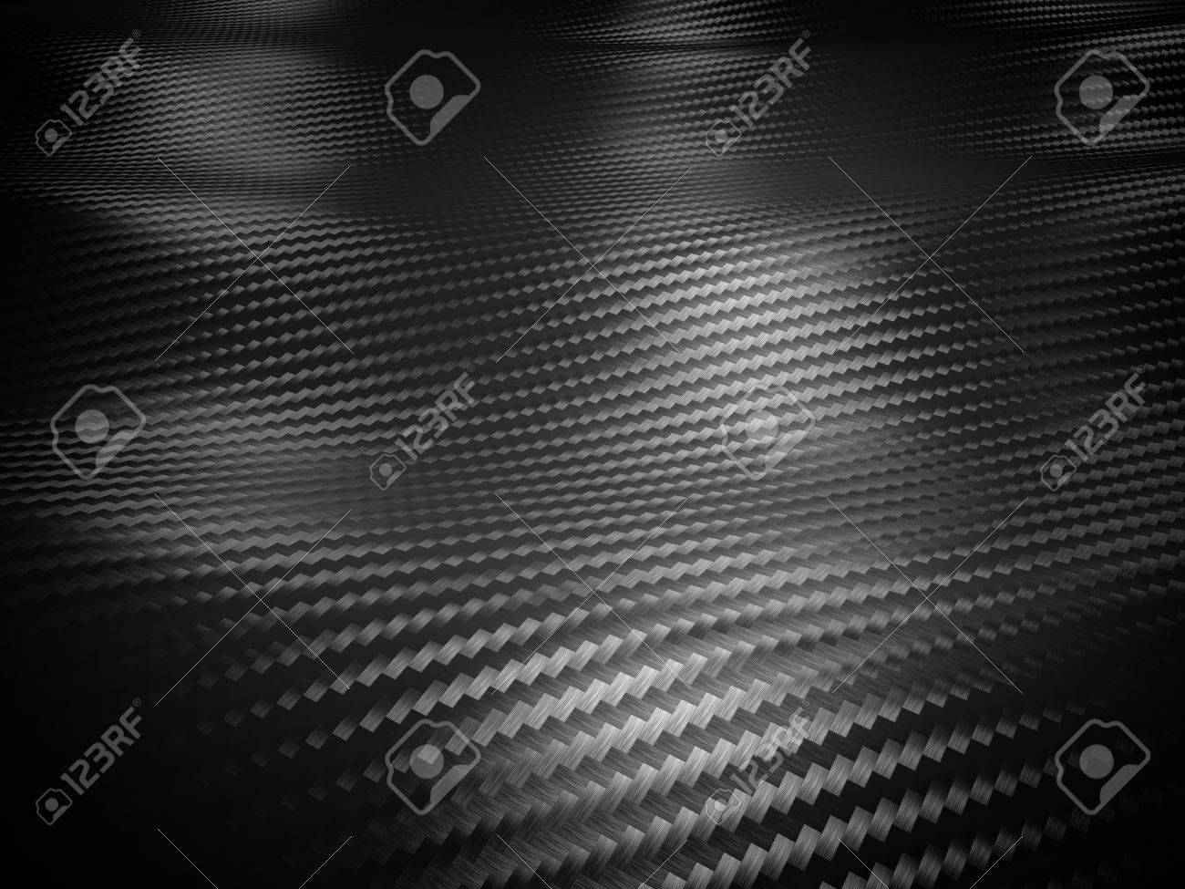 carbon fiber background 3d image - 54721495