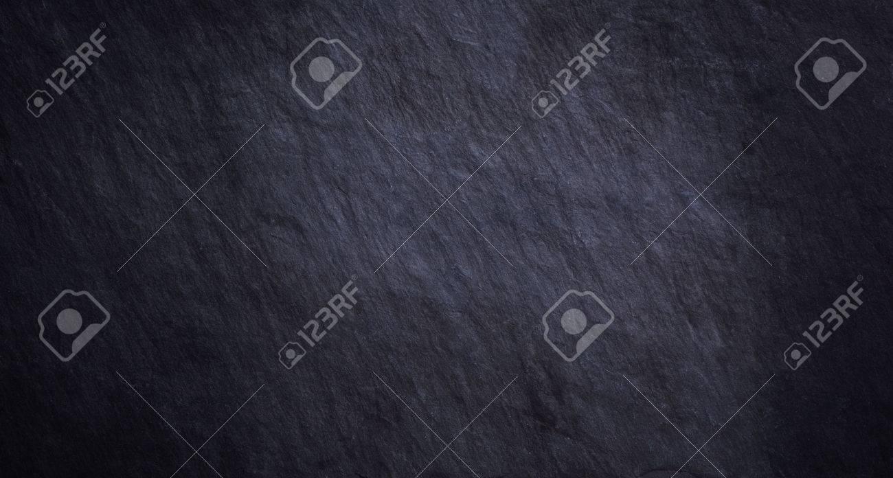 detail of real black slate - 63569645