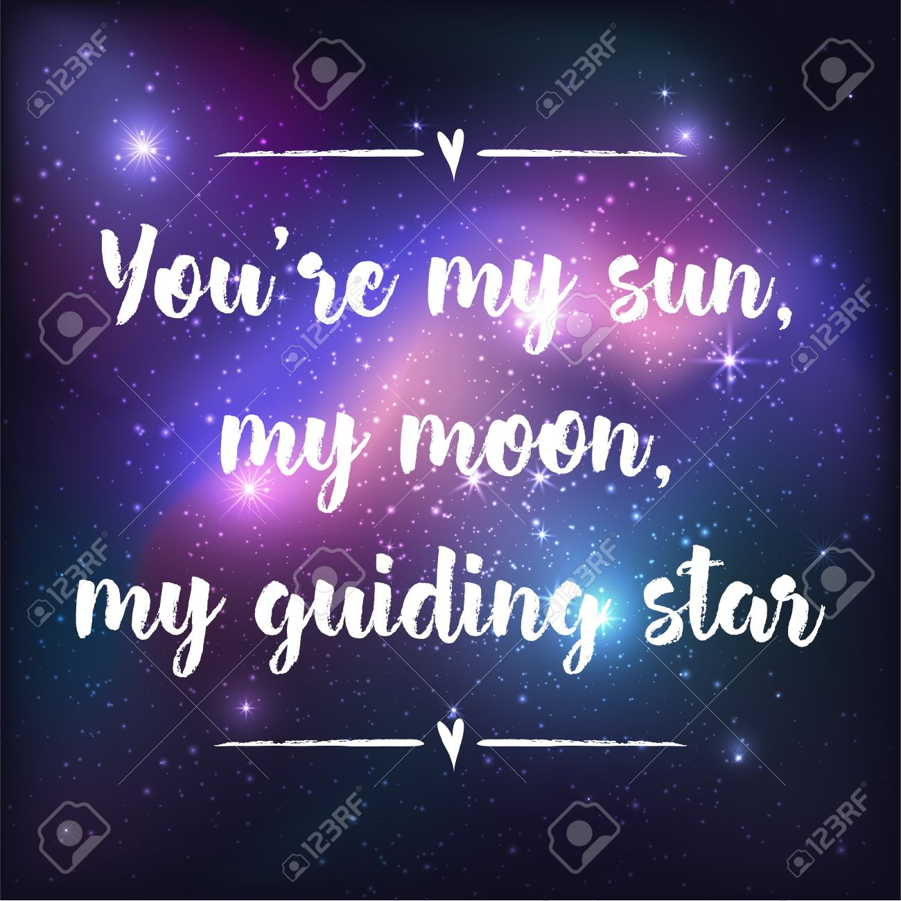 Galaxy Quotes Moon Stars Galaxy With Quotes
