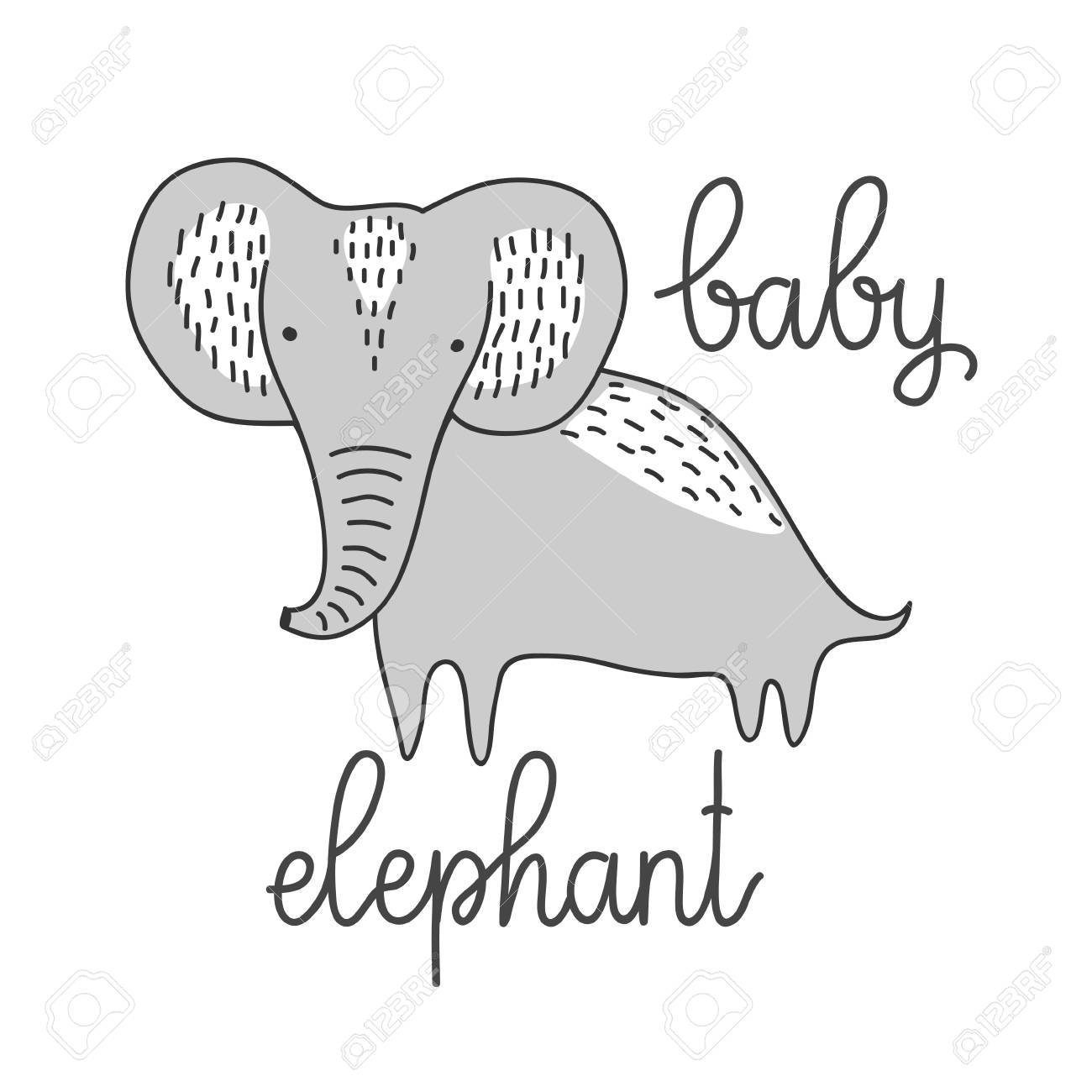 Perfect Baby Elephant Template Collection - Professional Resume ...