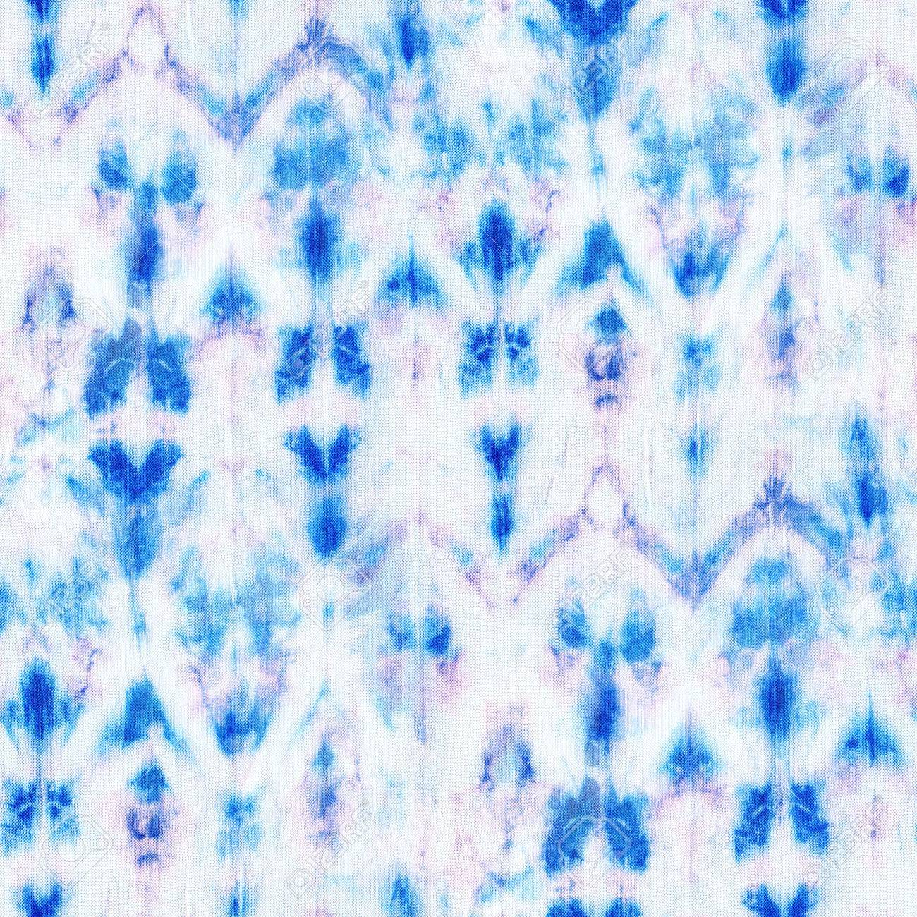 Beautiful Seamless Tie Dye Pattern On White Silk Batik Hand Stock Photo Picture And Royalty Free Image Image 48861951