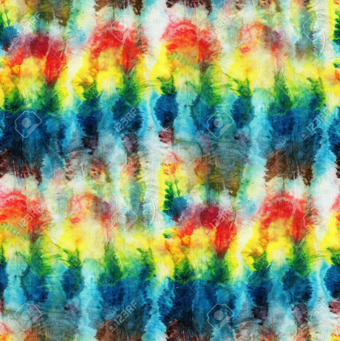 Stoffe Färben nahtloses batikmuster handmalerei stoffe knotige batik shibori