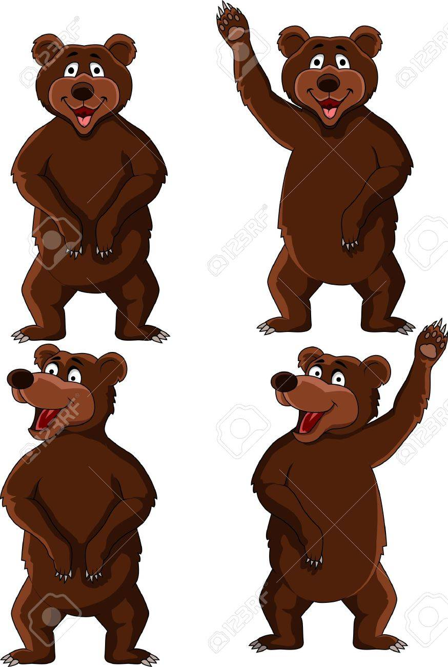Bear cartoon Stock Vector - 15924845