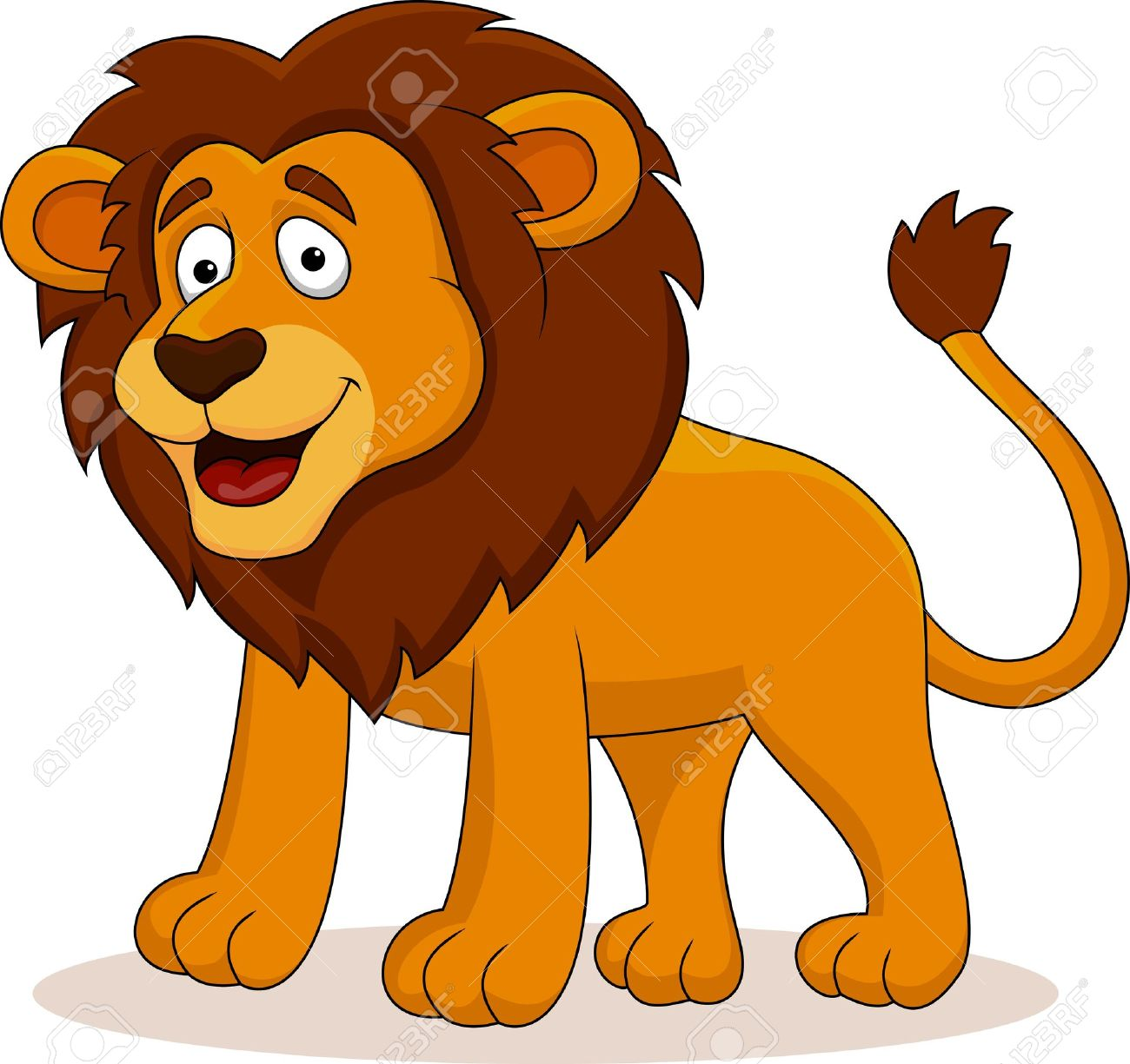 Funny lion pictures cartoon
