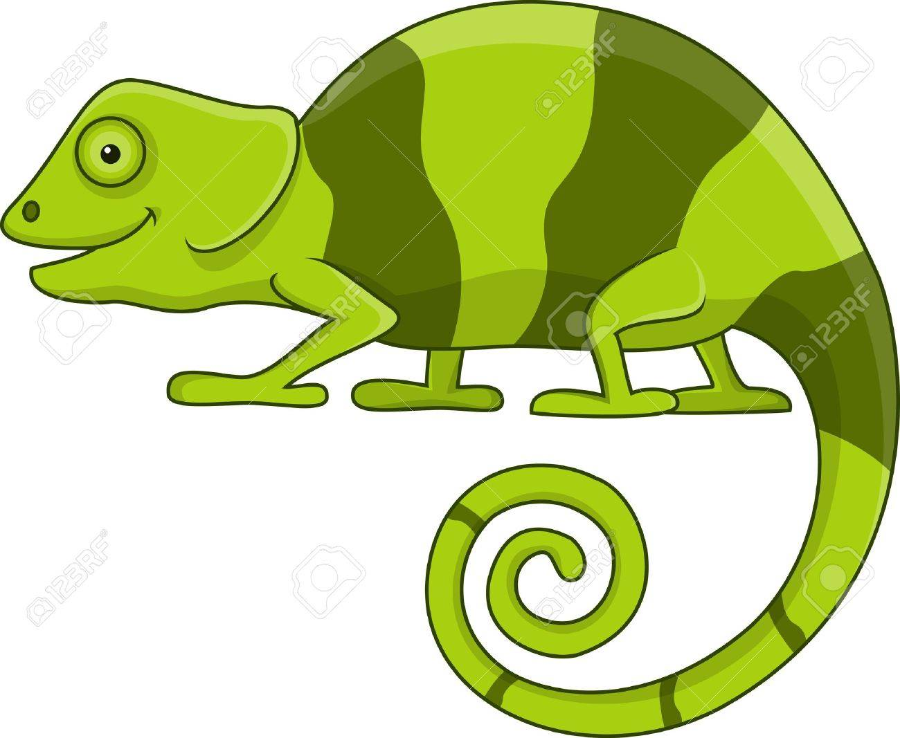 Funny Chameleon Cartoon Royalty Free Cliparts Vectors And Stock Illustration Image 18047060