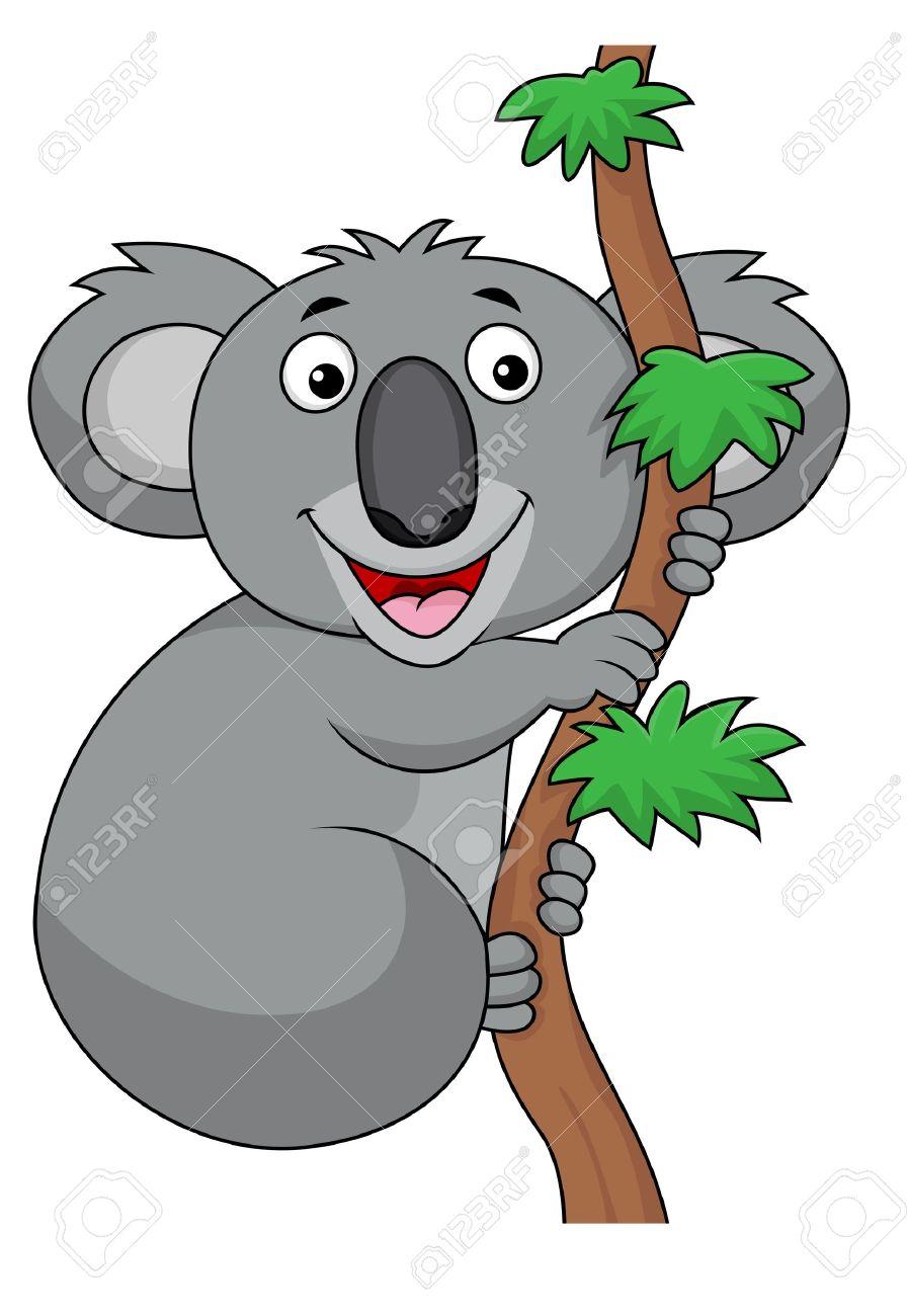 Koala Cartoon Royalty Free Cliparts Vectors And Stock Illustration
