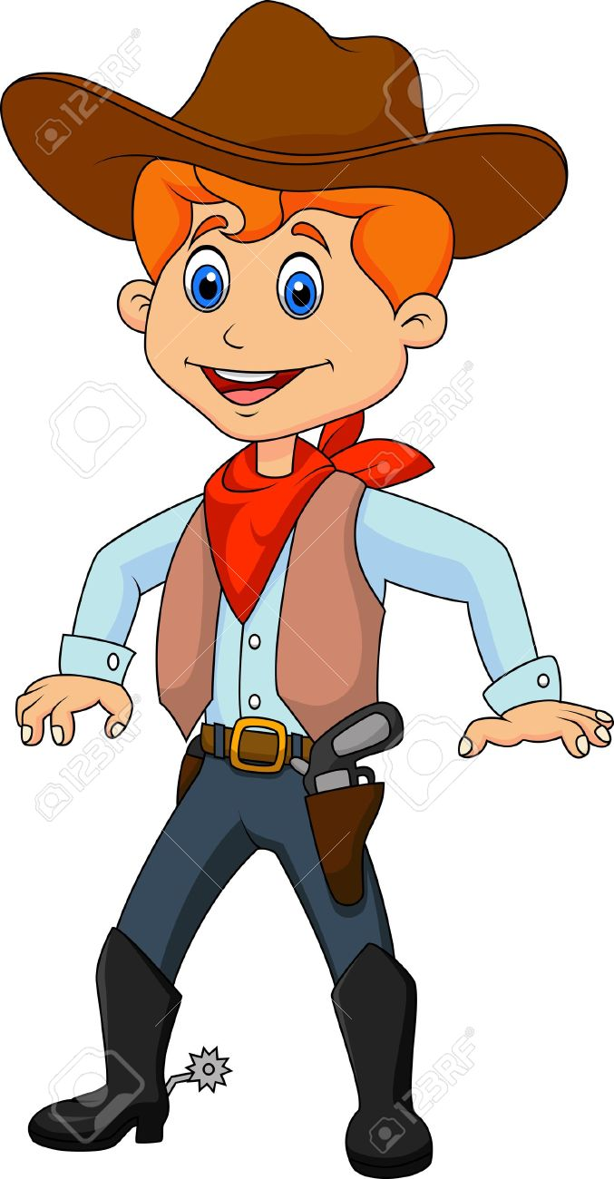 Cowboy Cartoon Royalty Free Cliparts Vectors And Stock Illustration Image 19583287