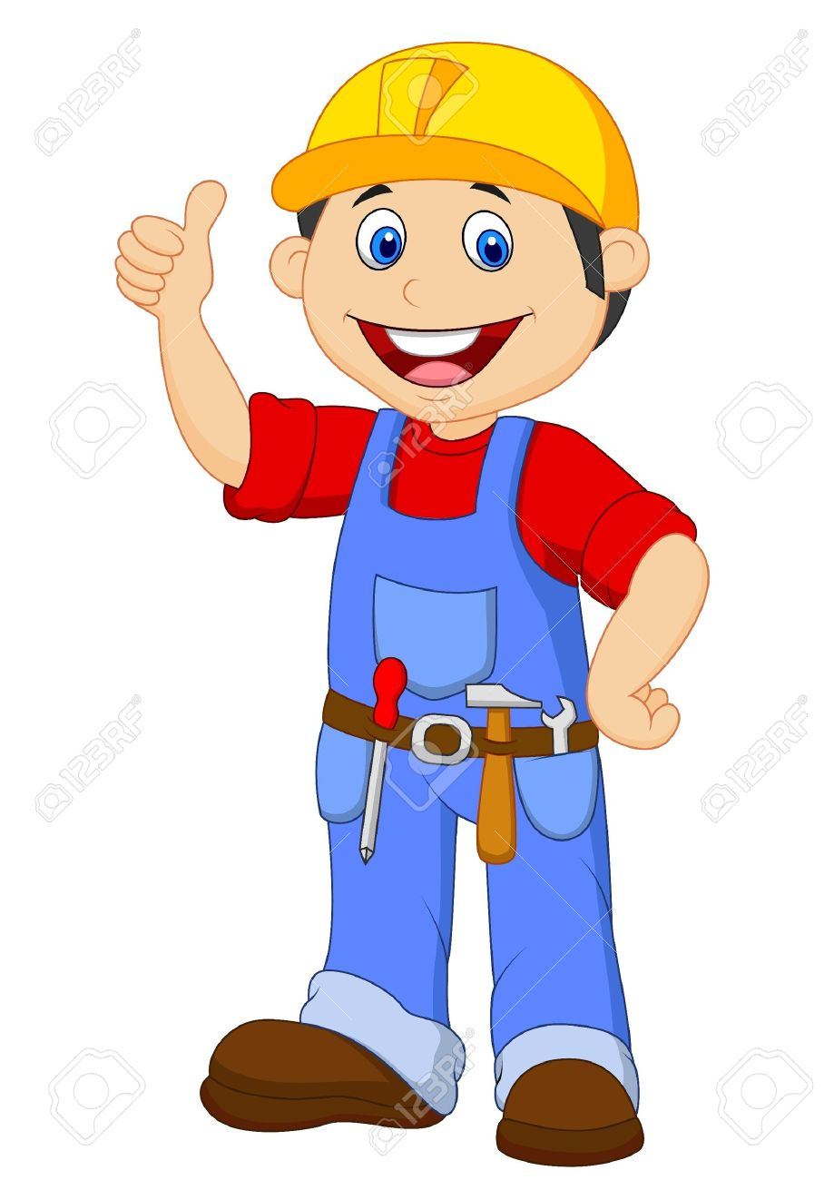 Showing post & media for Cartoon handyman clip art | www ...