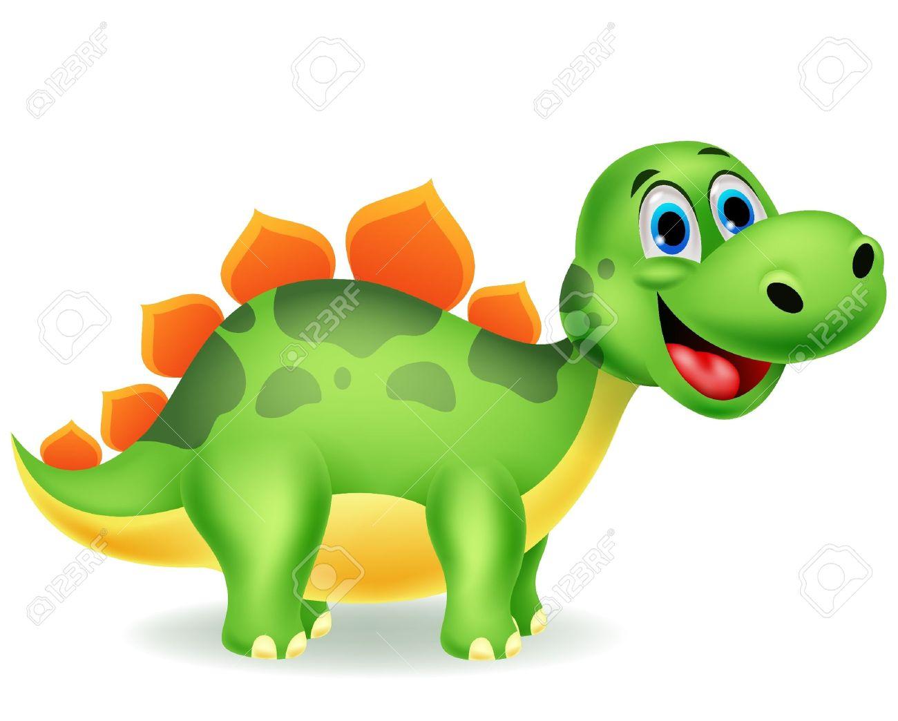 Cute Dinosaur Cartoon Royalty Free Cliparts Vectors And Stock Illustration Image 19864912