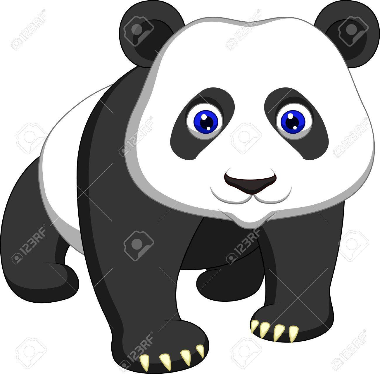 Cute panda cartoon Stock Vector - 20754014