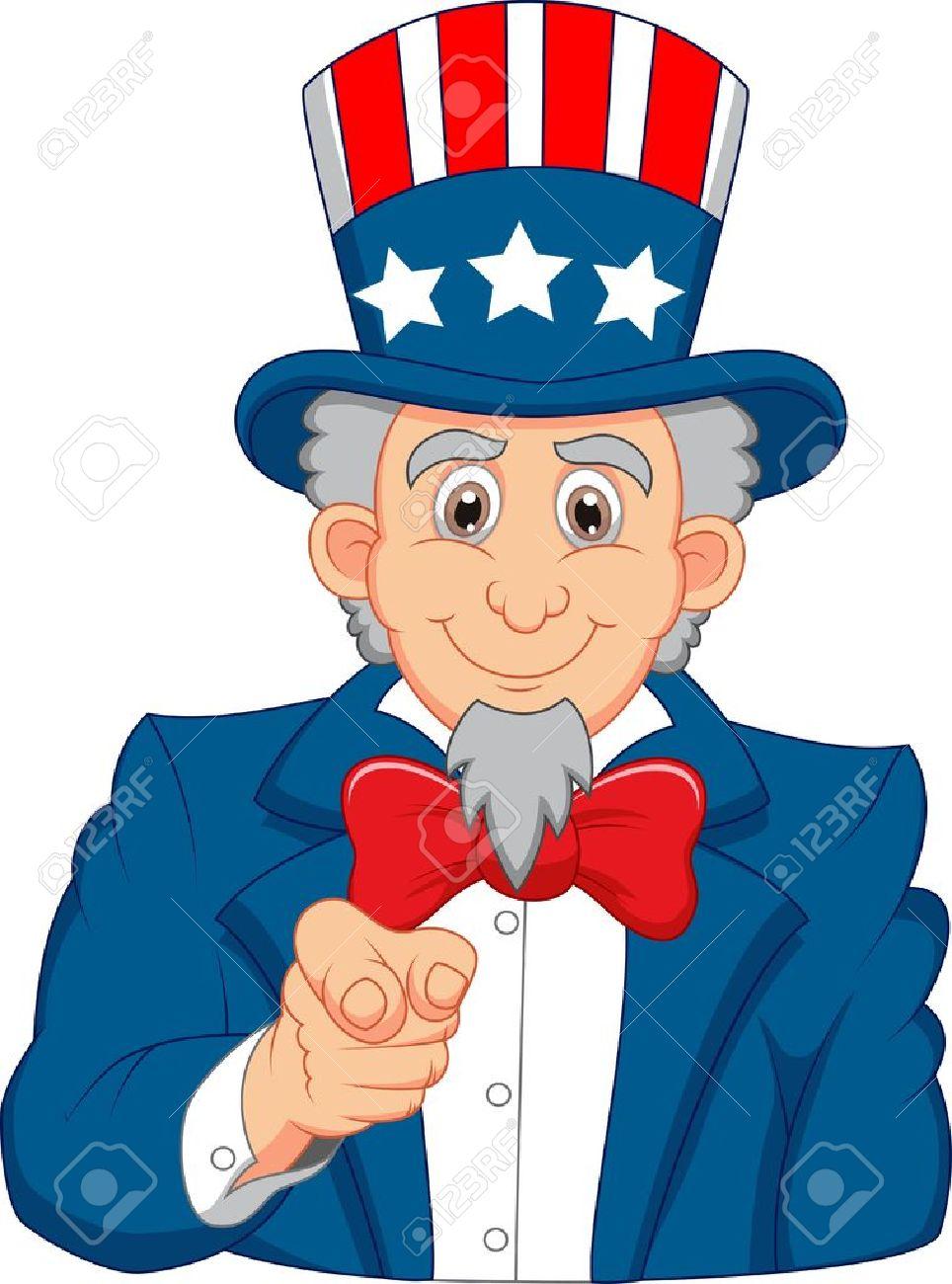 uncle sam cartoon wants you royalty free cliparts vectors and rh 123rf com Free Star Clip Art uncle sam i want you free clip art