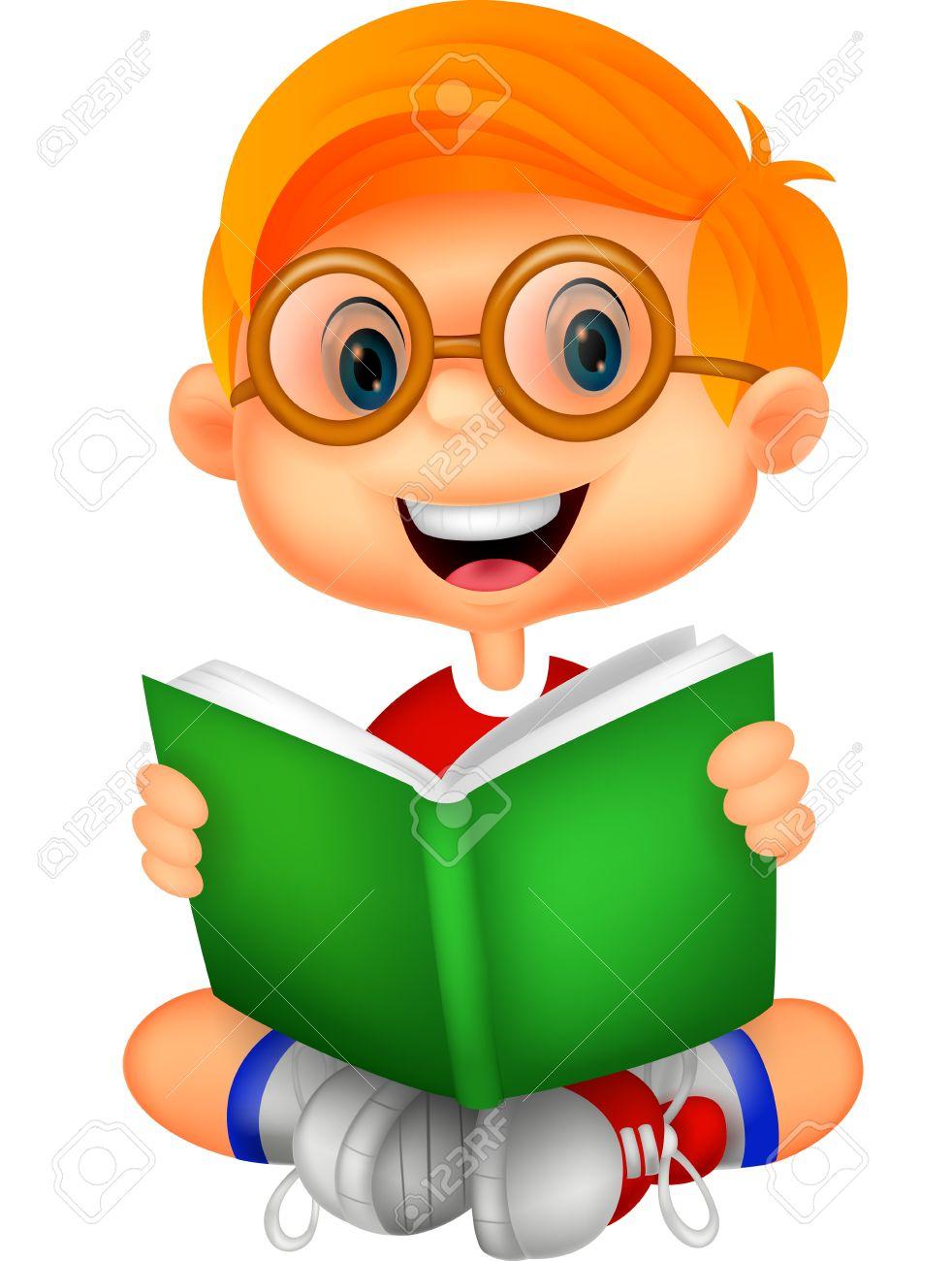 мальчик с книгой картинка