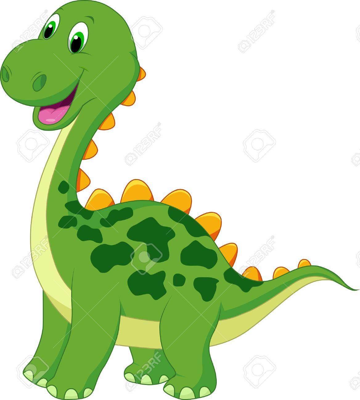 Cute Green Dinosaur Cartoon Royalty Free Cliparts Vectors And Stock Illustration Image 22467069