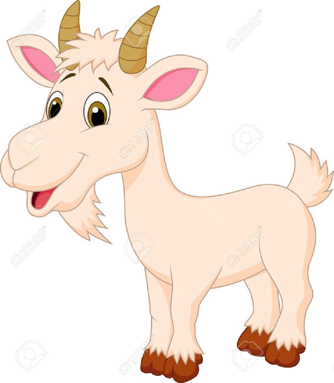 Goat cartoon character - 22637319