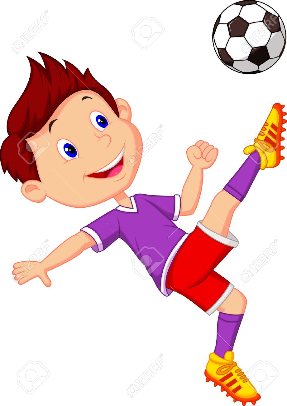 Cartoon Football Player Images & Stock Pictures. Royalty Free ...