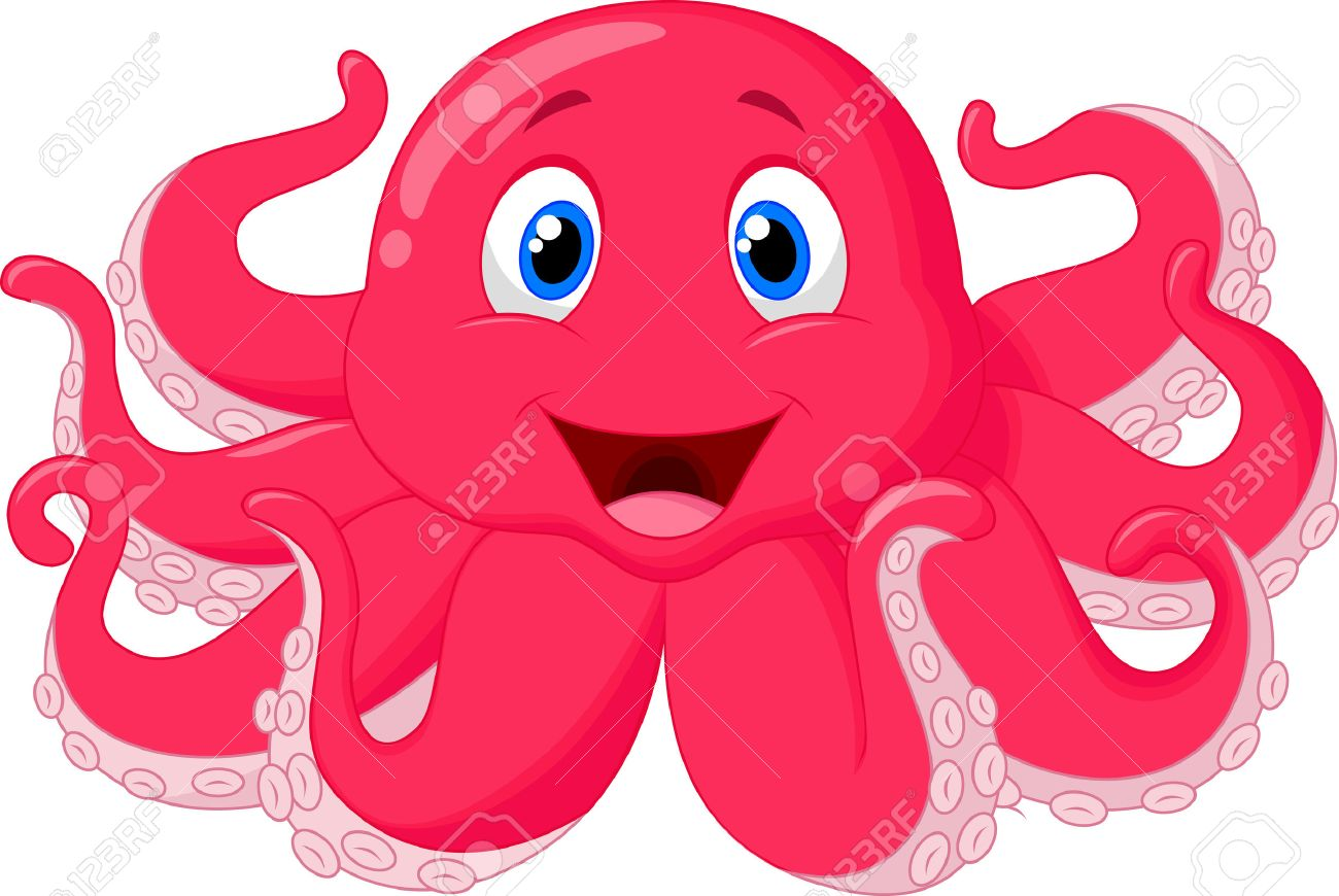 cute octopus cartoon royalty free cliparts vectors and stock rh 123rf com Free Umbrella Clip Art cartoon octopus clipart free