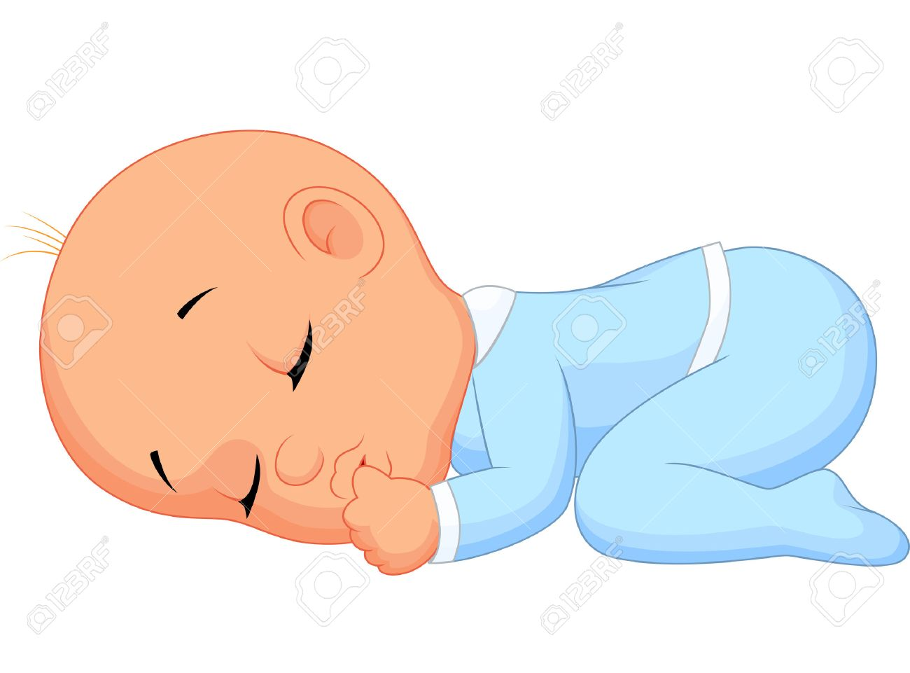 baby boy cartoon sleeping royalty free cliparts vectors and stock rh 123rf com free baby boy cartoon images black baby boy cartoon images
