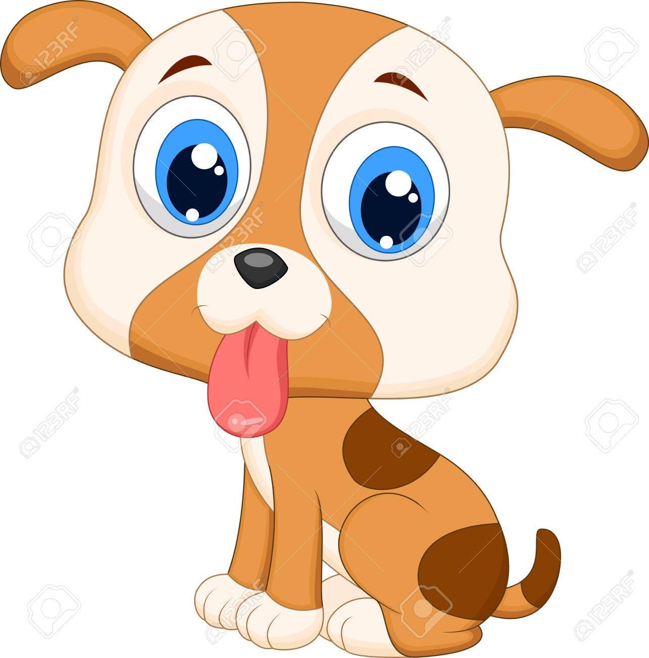 cute dog cartoon royalty free cliparts vectors and stock