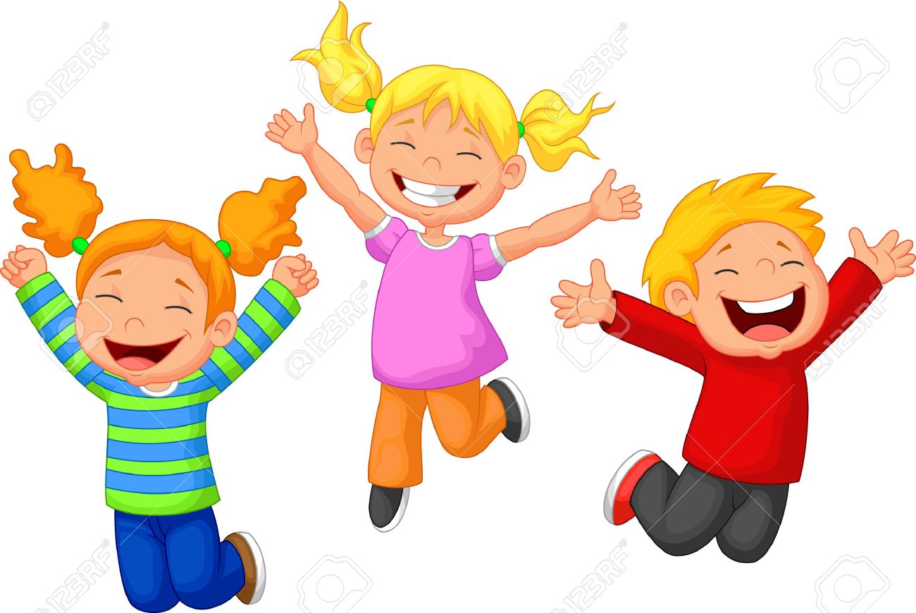 happy kid cartoon stock vector 27648855 - Cartoon Kid Images