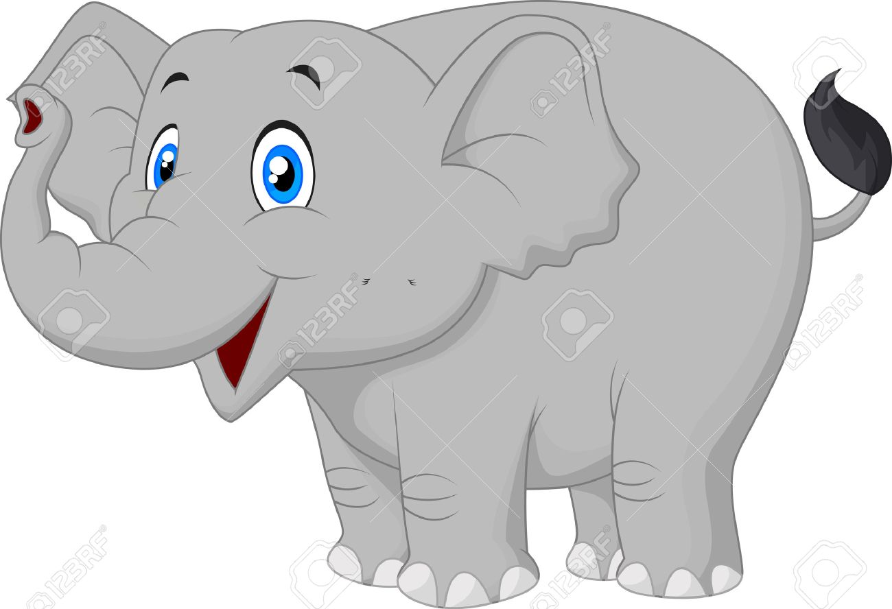 cartoon elephant stock photos u0026 pictures royalty free cartoon