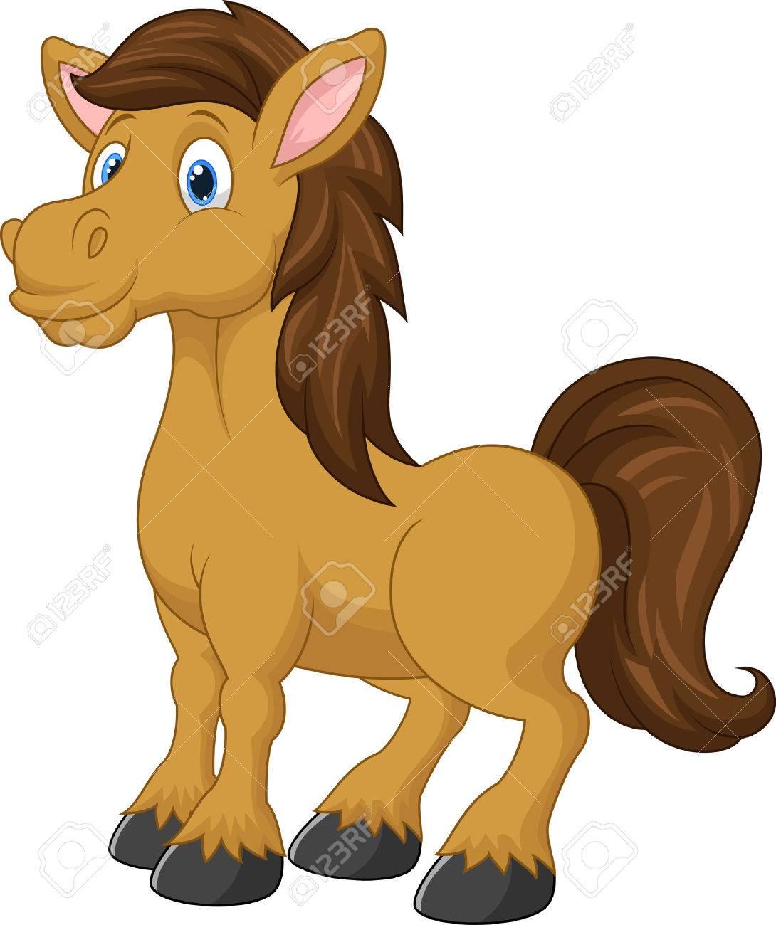 Horse Cartoon Cute horse cartoon