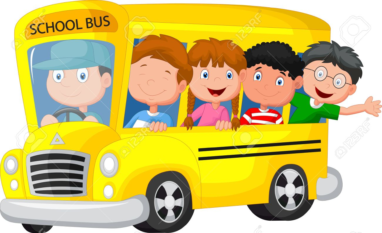 Resultado de imagen de foto de autobus escolar