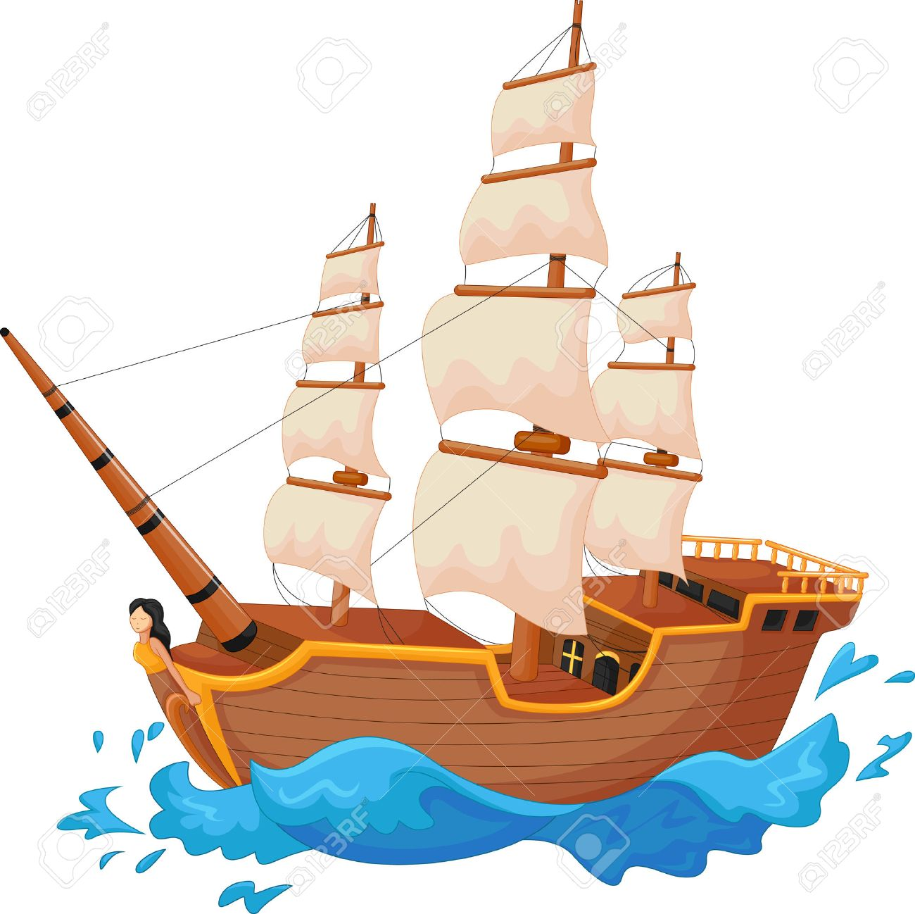 cartoon ship royalty free cliparts vectors and stock illustration image 33366874 cartoon ship