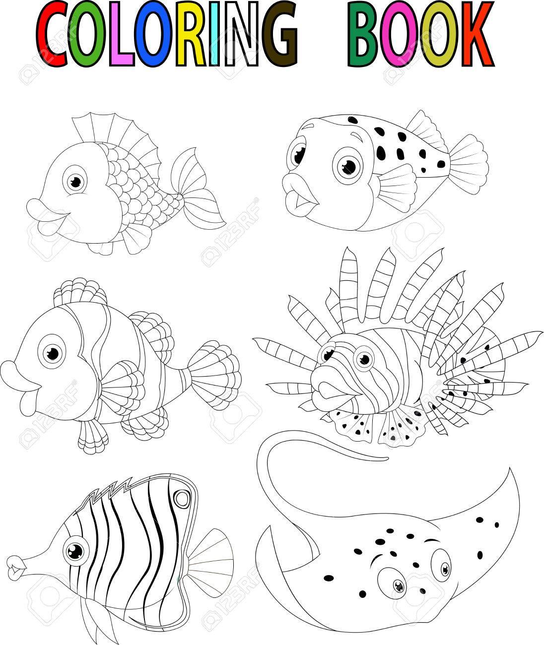 Dibujos De Peces Para Colorear. Dibujo De Peces Para Pintar Imprimir ...