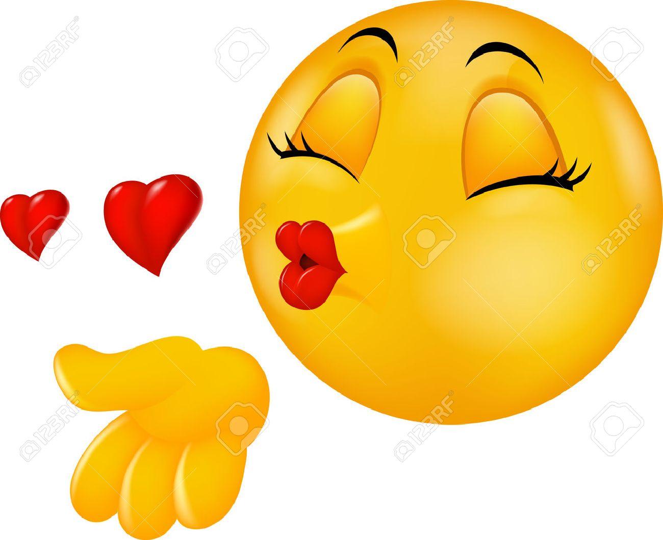 поцелуйчики смайлики картинки