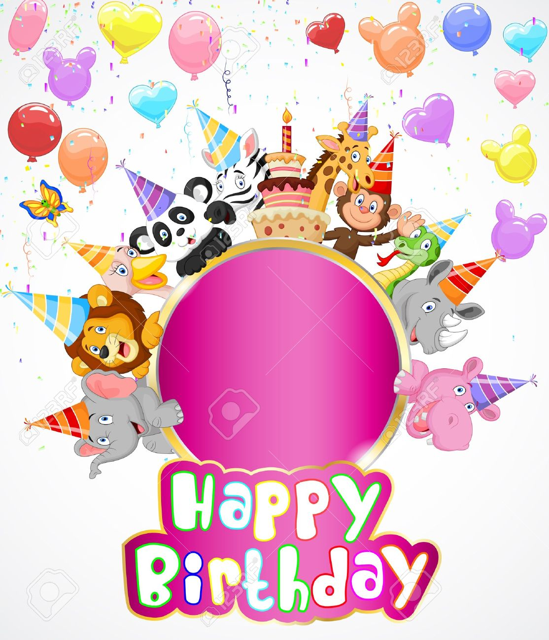 297,035 Birthday Invitation Stock Illustrations, Cliparts And ...