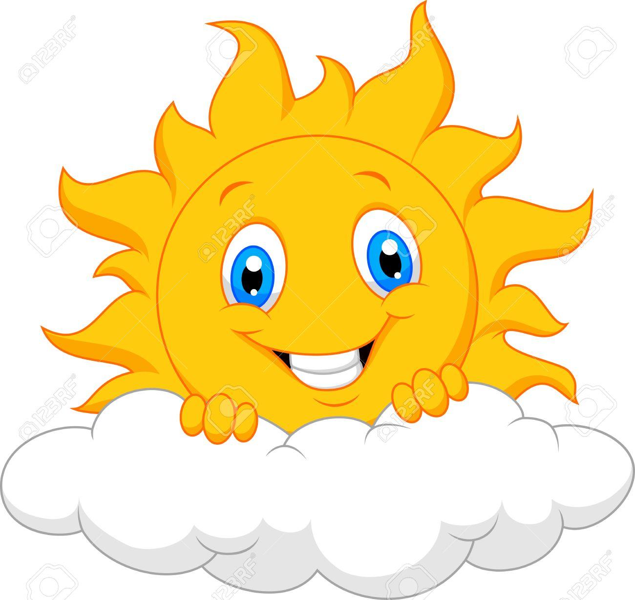 Cartoon Sun Stock Photos And Images 123rf