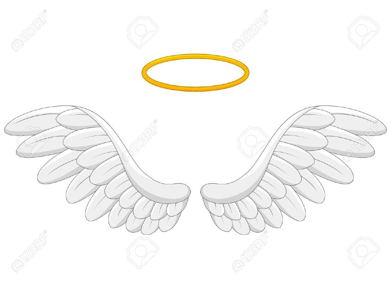 angel wings cartoon royalty free cliparts vectors and stock rh 123rf com cartoon angel wings drawing cartoon angel wings png