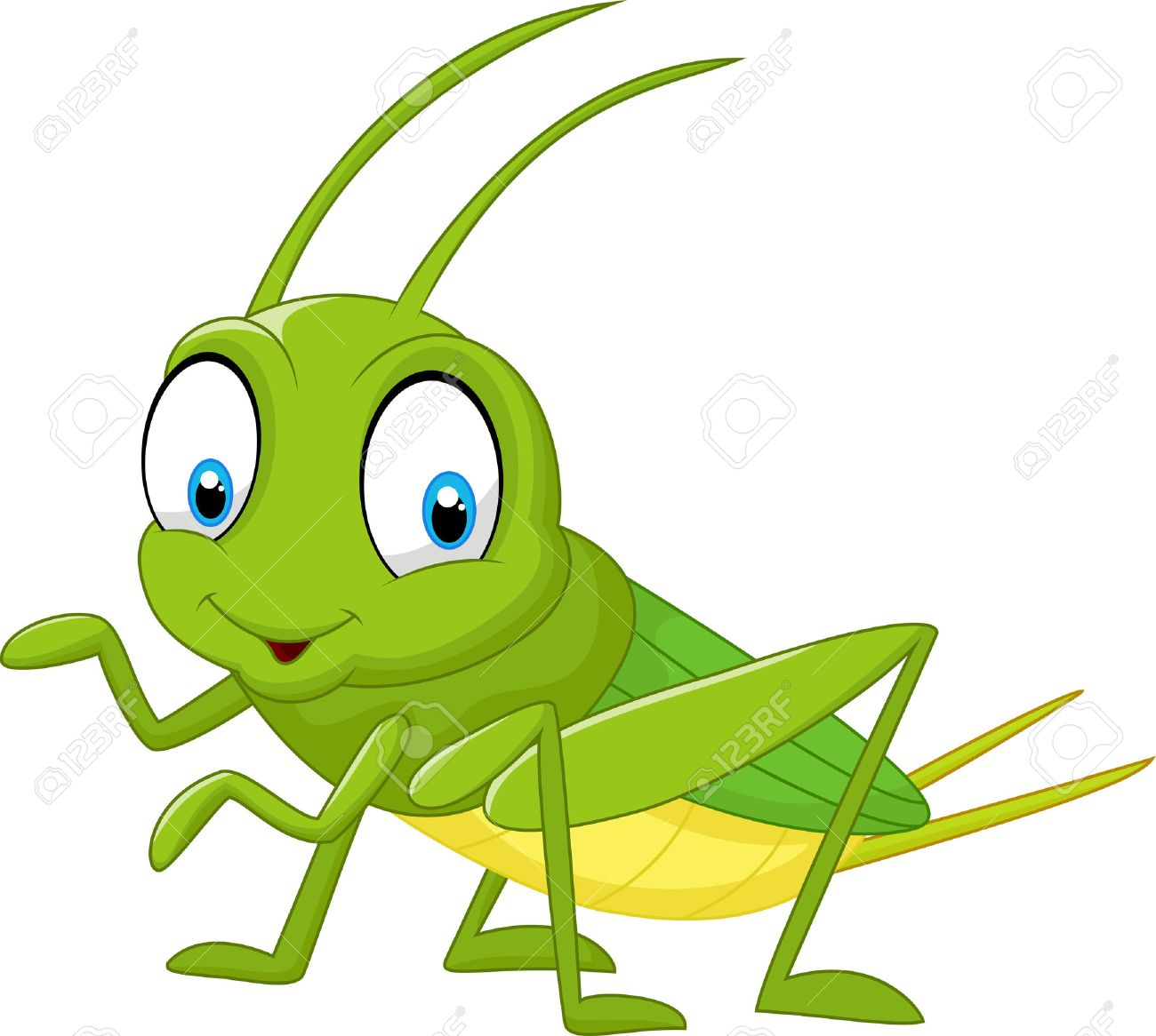 cartoon funny cricket royalty free cliparts vectors and stock rh 123rf com funny clip art pictures funny clip art black and white
