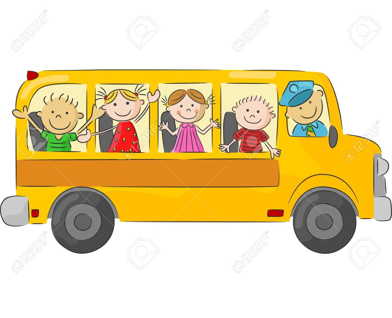 Resultat d'imatges de autobus dibujos