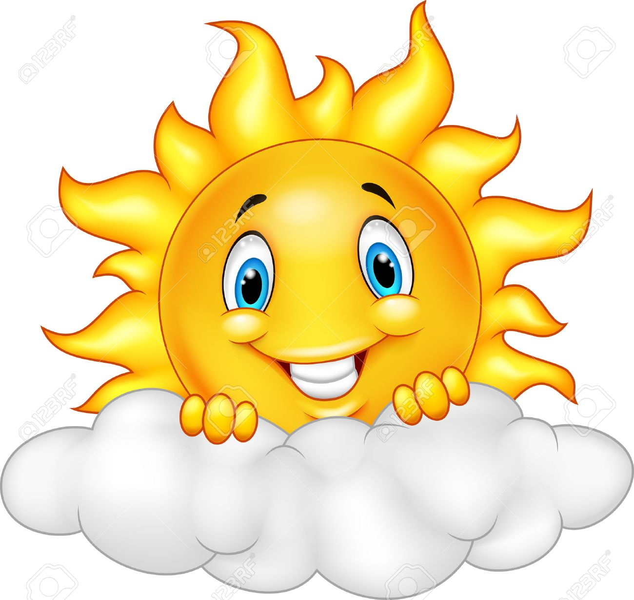 Smiling sun images - Smiling Sun Cartoon Mascot Character Stock Vector 41386961