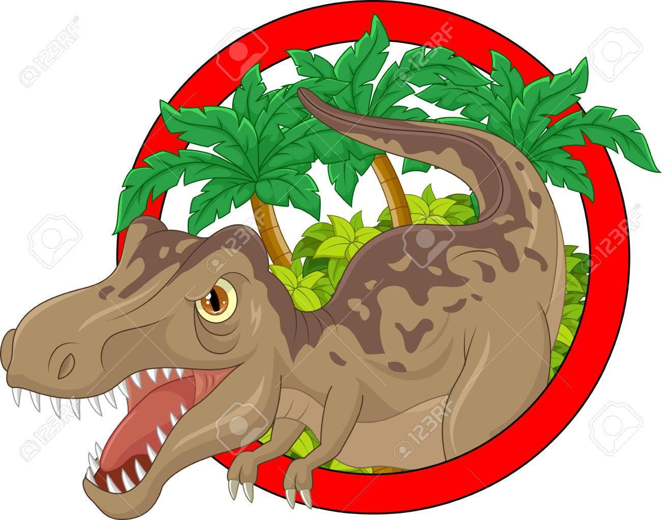 漫画恐竜イラストのイラスト素材ベクタ Image 45092229