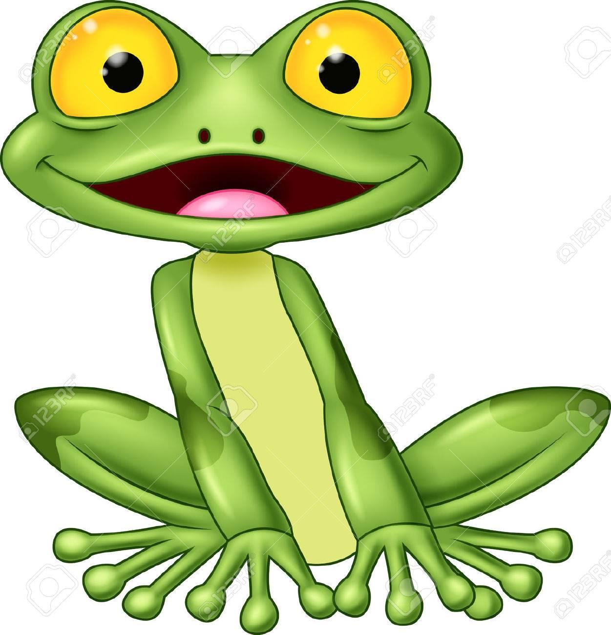 cartoon cute frog royalty free cliparts vectors and stock rh 123rf com