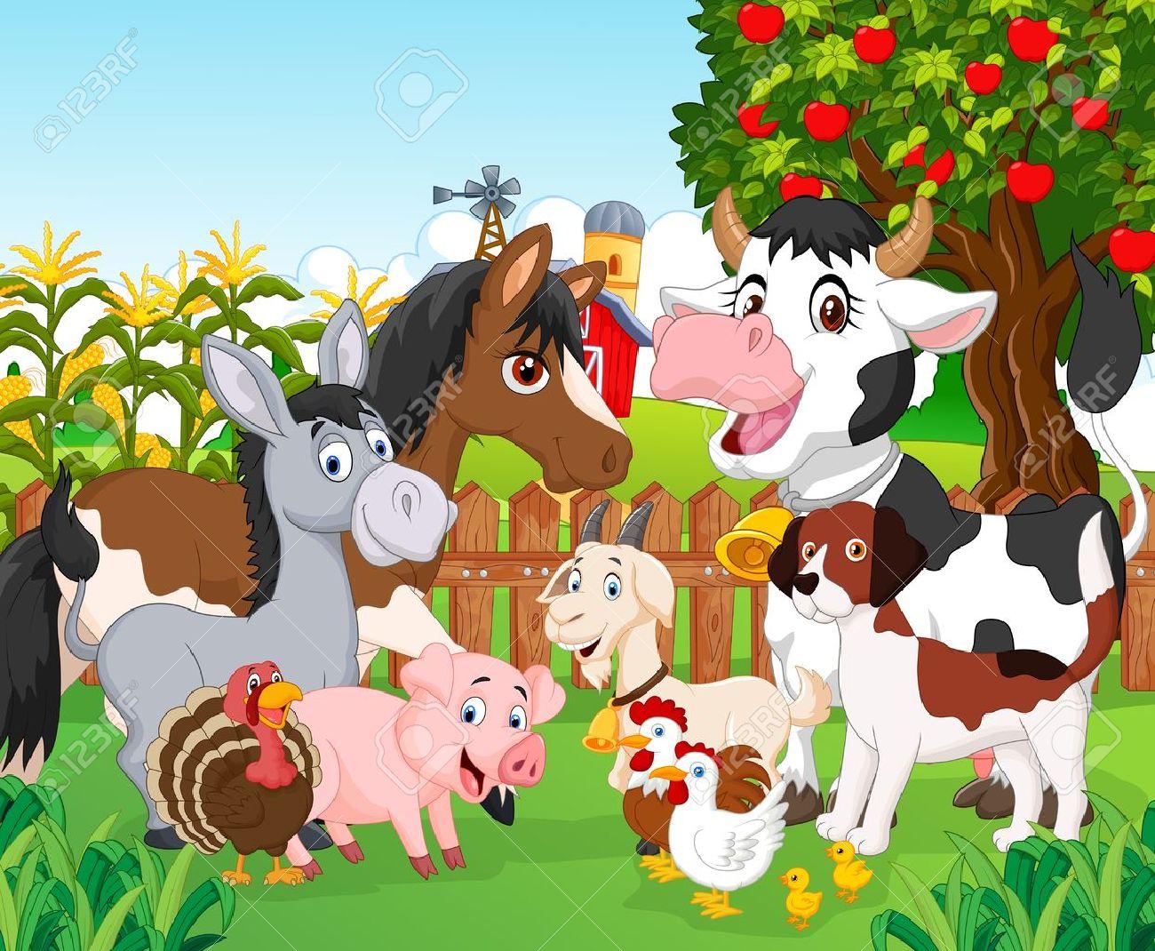 Cartoon cute animal Stock Vector - 45092467
