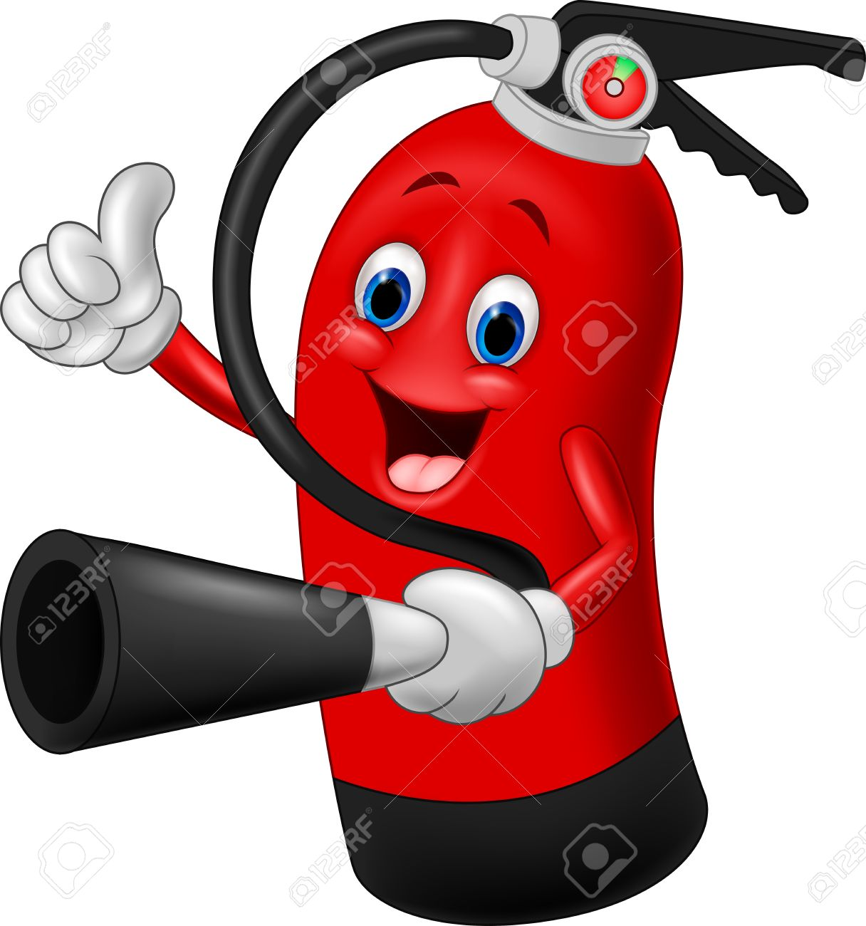 cartoon character of fire extinguisher giving thumb up royalty free cliparts vectors and stock illustration image 45092915 cartoon character of fire extinguisher giving thumb up