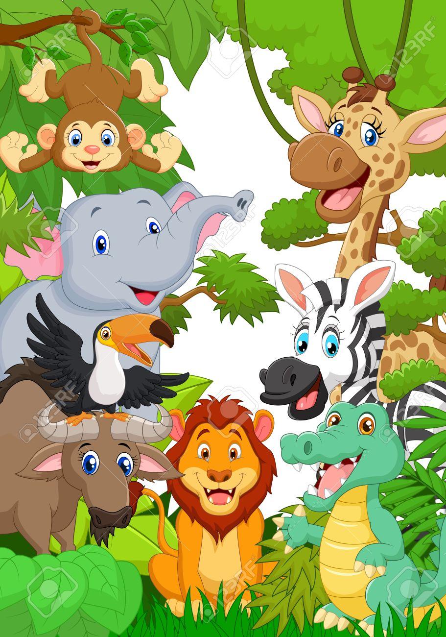 Atractivo Safari De La Selva Para Colorear Regalo - Ideas Para ...