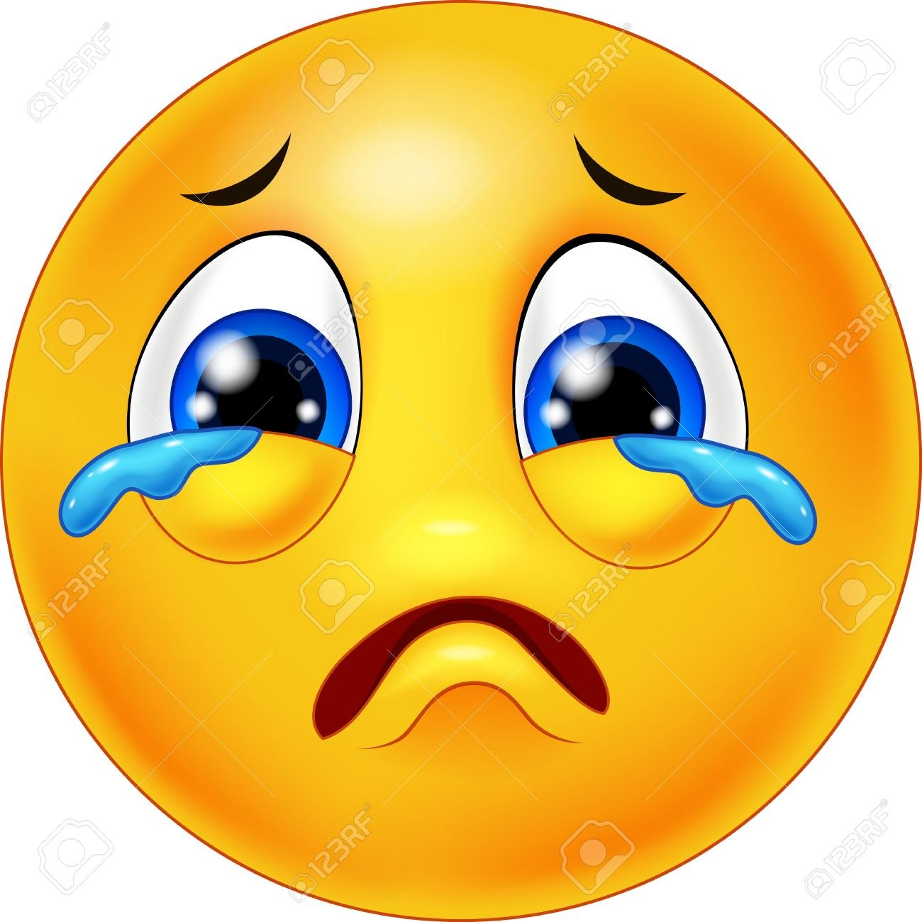 Picture of sad face crying impremedia sad face crying emoticon cartoon buycottarizona Gallery
