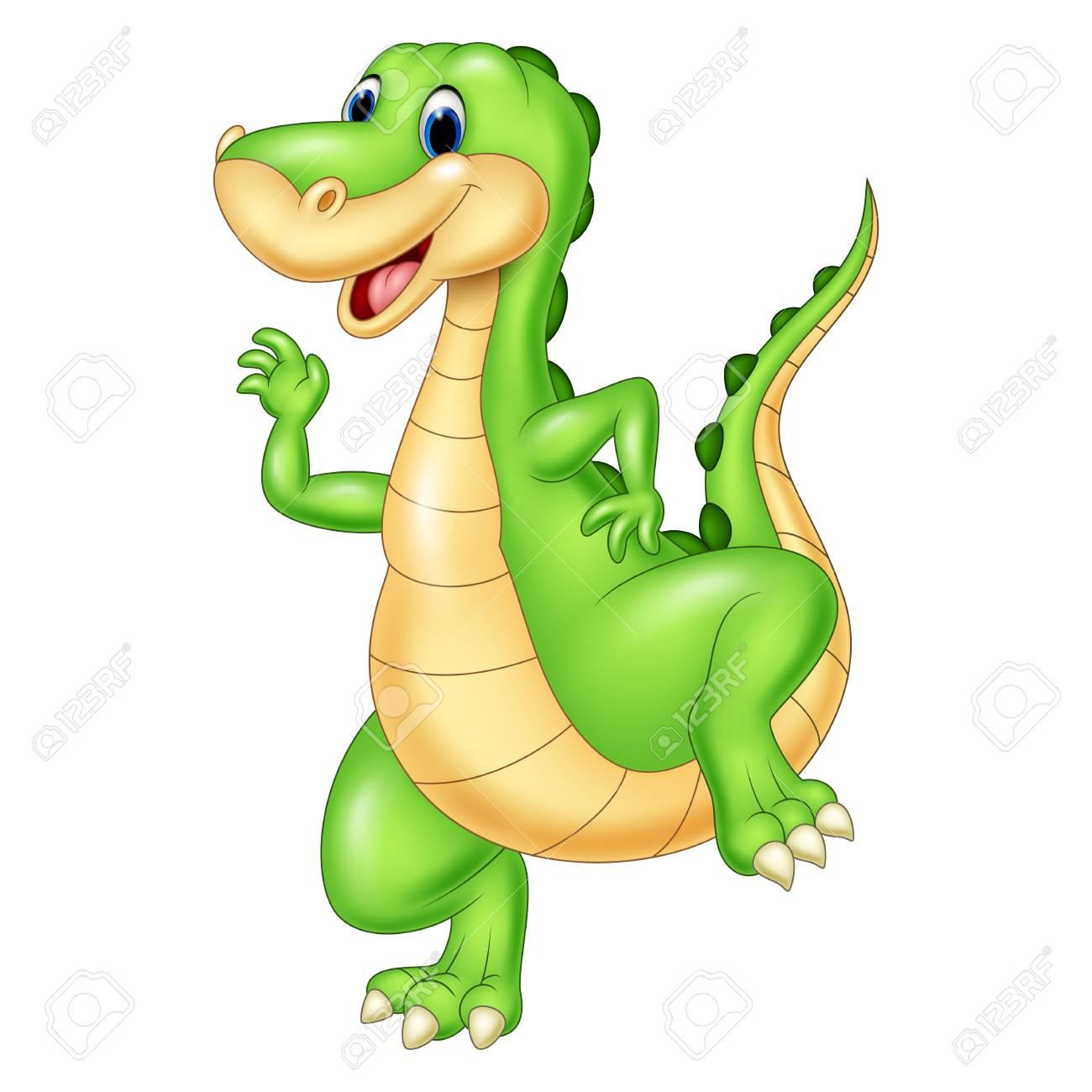 Ilustracion De Dibujos Animados Dinosaurio Verde Ilustraciones Vectoriales Clip Art Vectorizado Libre De Derechos Image 69010398 Conocer el nombre de personajes de dibujos animados es el primer paso, y luego ya vamos sabiendo cuales. ilustracion de dibujos animados dinosaurio verde