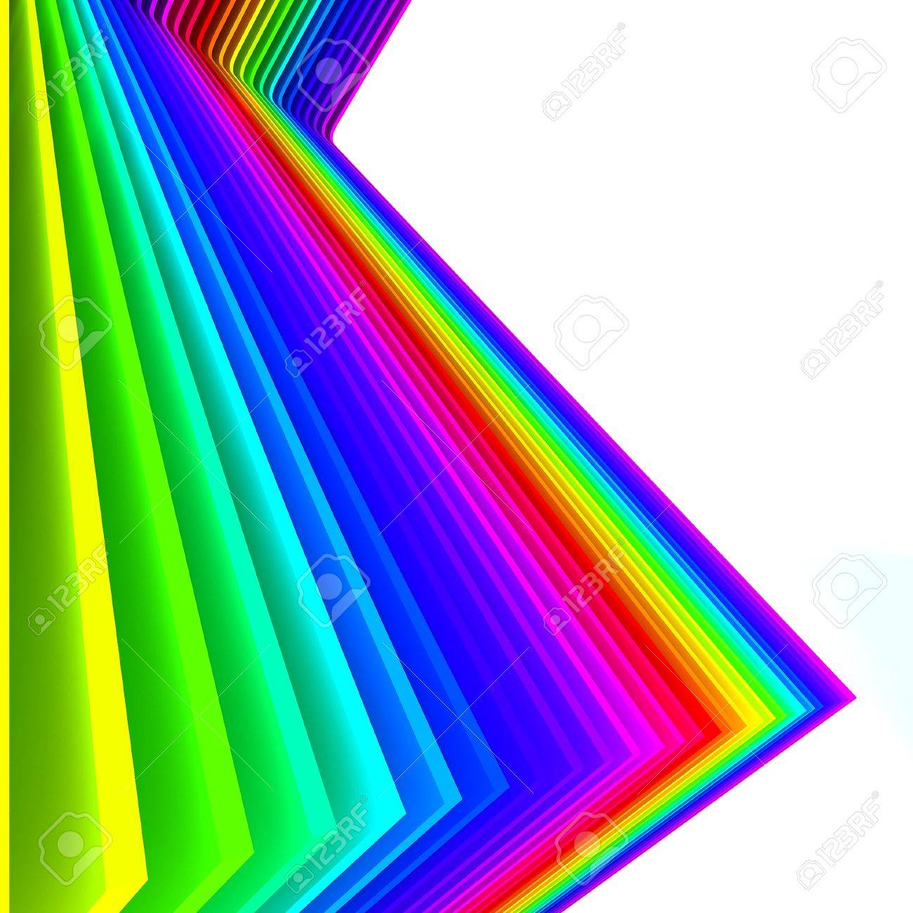 Colorful abstract lines for background Stock Photo - 14622940