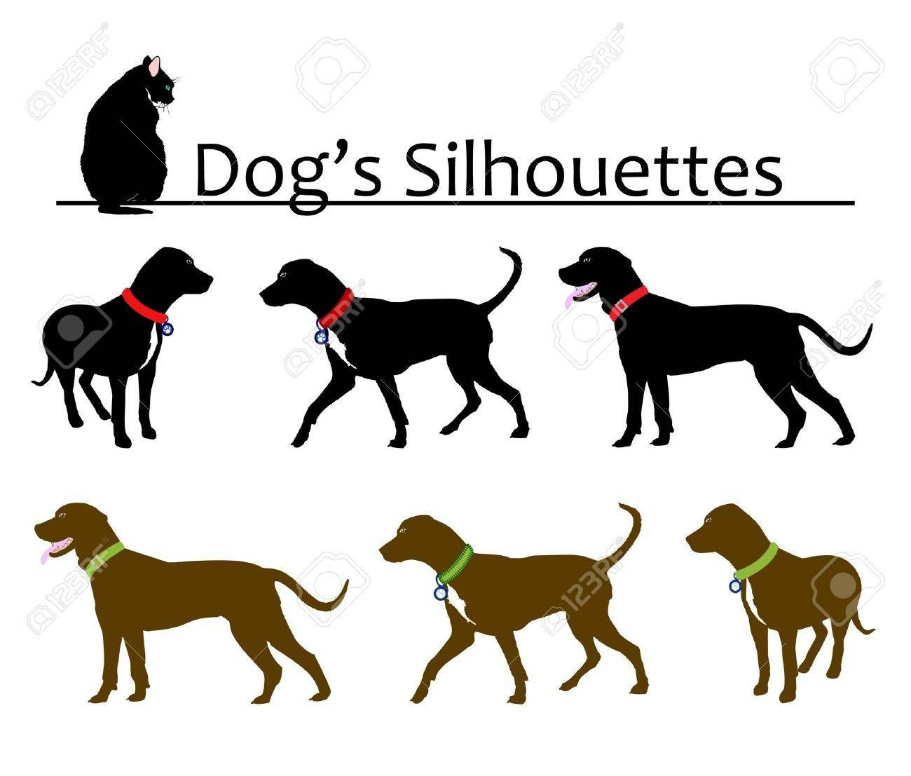9 416 dog collar stock vector illustration and royalty free dog
