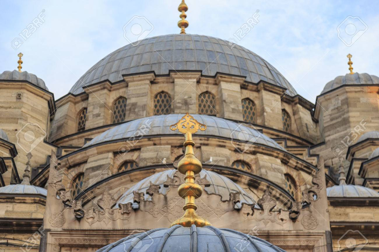 Ottoman Mosque Dome From Ancient Times Stock Photo Picture And